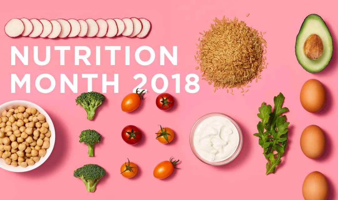 Nutrition Month Awareness – What does Nutrition Month mean to me?